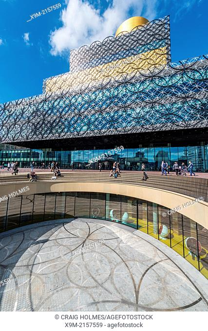 The New Library of Birmingham, Centenary Square, Birmingham, England