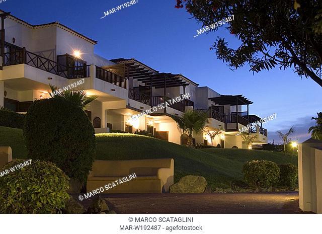 spain, canary islands, la gomera, playa santiago, hotel jardin tecina
