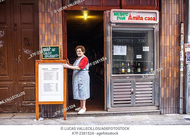 Mesón Bar Amiña Casa, Galera 15, Coruña city, Galicia, Spain