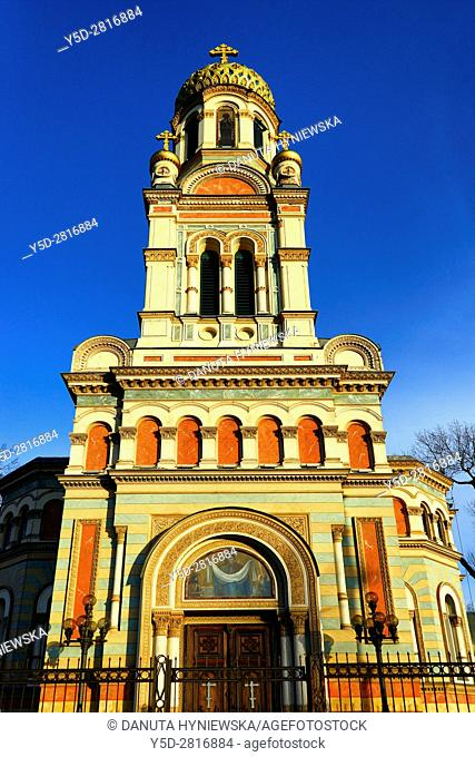 Alexander Nevsky Cathedral - orthodox church located Lodz in central Poland, it was built in the late 19th century as a gift from Lodz's industrialists to the...