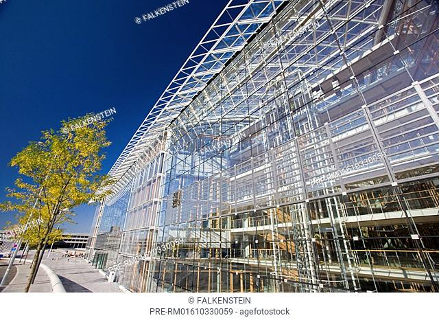 New building of the European Investmentbank on the Kirchberg Plateau, Luxemburg, Luxembourg, Letzebuerg, Europe