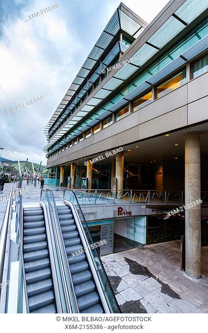 Euskalduna Conference Centre and Concert Hall. Bilbao, Spain, Europe