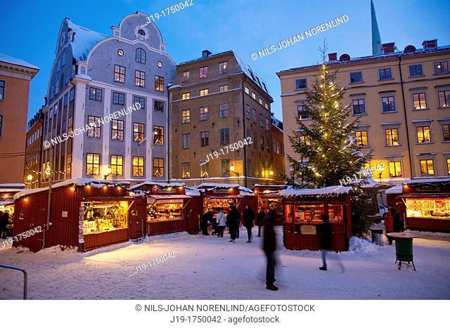 Christmas Fair ,Old Town,Stockholm
