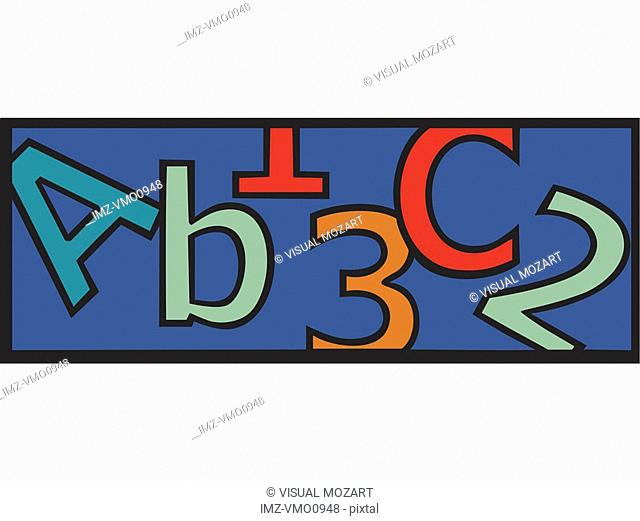 Letters and numbers: ABCs and 123s