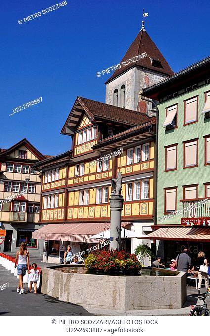 Switzerland, Appenzell, the...