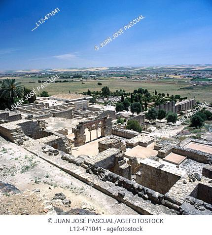 Moorish ruins of Medina Azahara, Cordoba, Spain