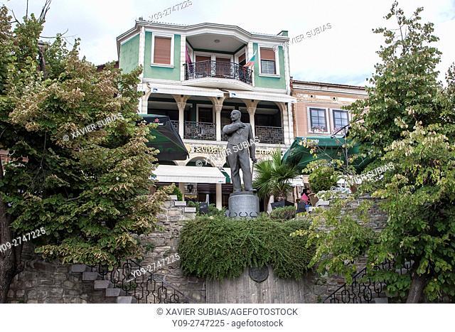 Monument of Stefan Stambolov, Veliko Tarnovo, Bulgaria