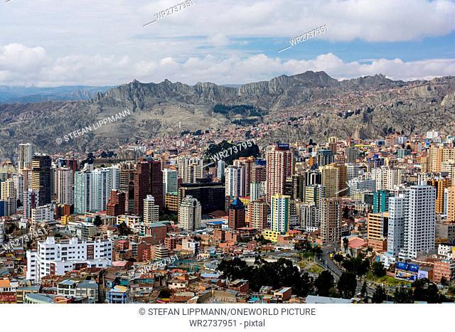 Bolivia, Departamento de La Paz, La Paz, La Paz is the government seat of Bolivia. Formal capital is Sucre