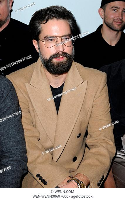 London Fashion Week Men's - Casley Hayford - Catwalk and Front Row Featuring: Jack Guiness Where: London, United Kingdom When: 07 Jan 2017 Credit: WENN