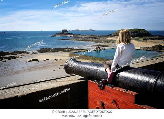 Bastion of the Dutch, Saint Malo, Ille-et-Vilaine, Brittany, France