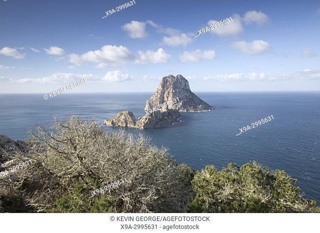 Vedra Island in Ibiza; Spain