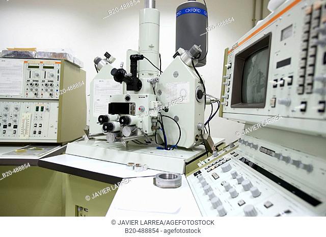 Microscopio electronico de barrido, Centro tecnológico, Fundación Inasmet, Donostia, San Sebastian, Gipuzkoa, Euskadi. Spain
