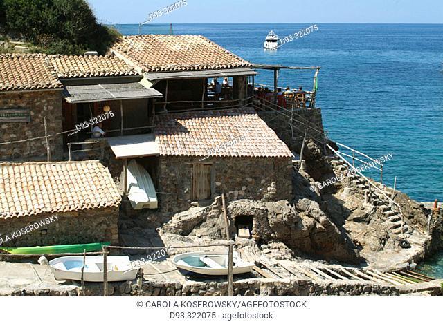 Cala Deya. Majorca. Balearic Islands. Spain
