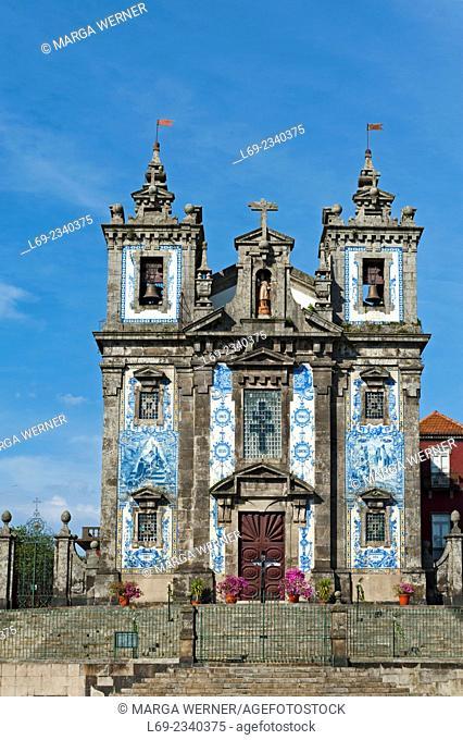 Igreja de Santo Ildefonso, 18th century, City of Porto, Portugal, Europe