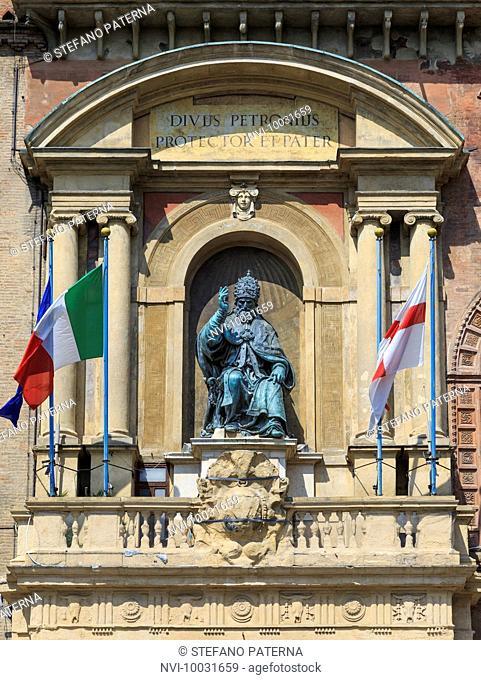 Palazzo Comunale, Bologna, Emilia-Romagna, Italy