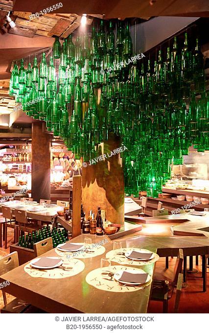 Restaurant Sidrería Tierra Astur, Cider, Gijón, Asturias, Spain