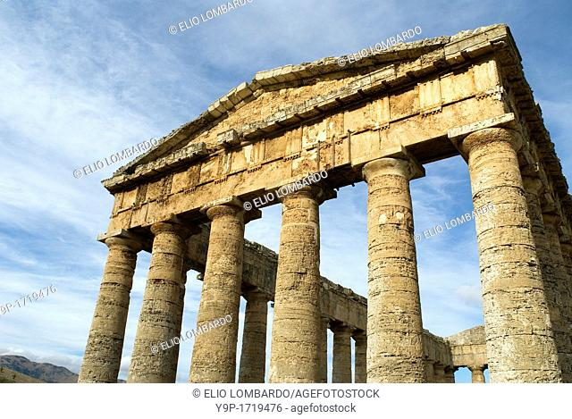 Greek Temple, Segesta, Trapani District, Sicily, Italy