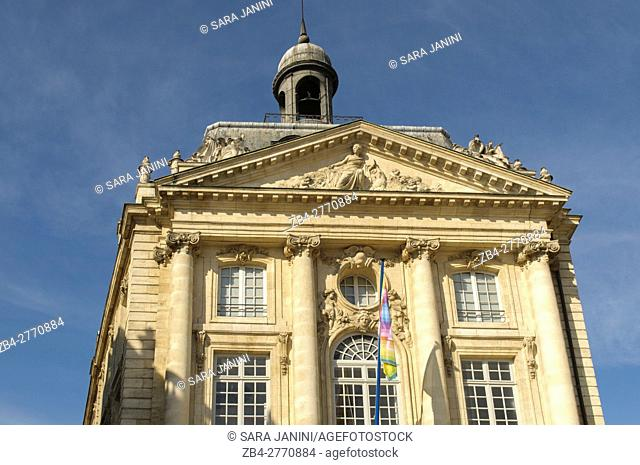 Palais de la Bourse, Bordeaux, Aquitaine, France, Europe