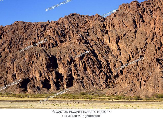 Landscape on route 40, Calchaquí Valleys, Salta, Northwest, Argentina