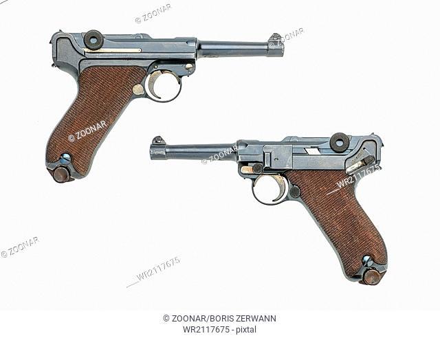 german pistol model 1908