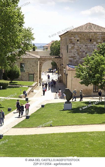 The cathedral in Zamora Castile Leon Spain
