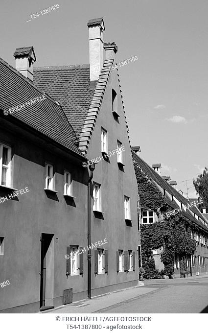 Houses in Augsburg Fuggerei