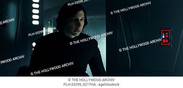 "Kylo Ren (Adam Driver), """"Star Wars: The Last Jedi"""" (2017) Lucasfilm Ltd"