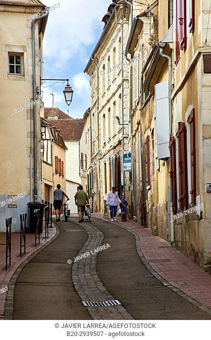 Auxerre, Yonne, Burgundy, Bourgogne, France, Europe