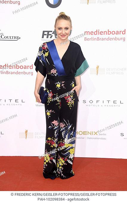 Anna Maria Muhe at the presentation of the German Film Prize 2018 at Messe Berlin. Berlin, 27.04.2018 | usage worldwide. - Berlin/Berlin/Deutschland