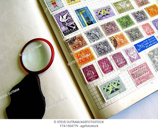 Old Stamp Album