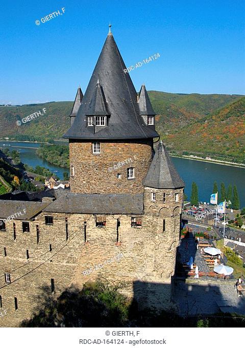 Fortress Stahleck Bacharach Rhineland-Palatinate Germany