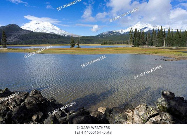 View to Sparks Lake