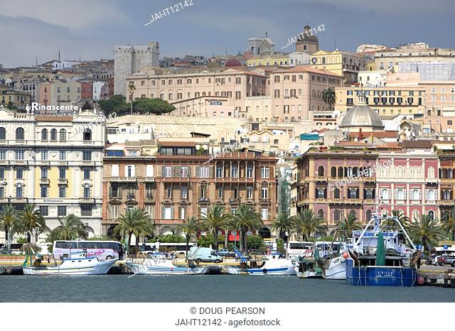 Cagliari City, Sardinia, Italy