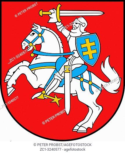 Staatswappen der Republik Litauen