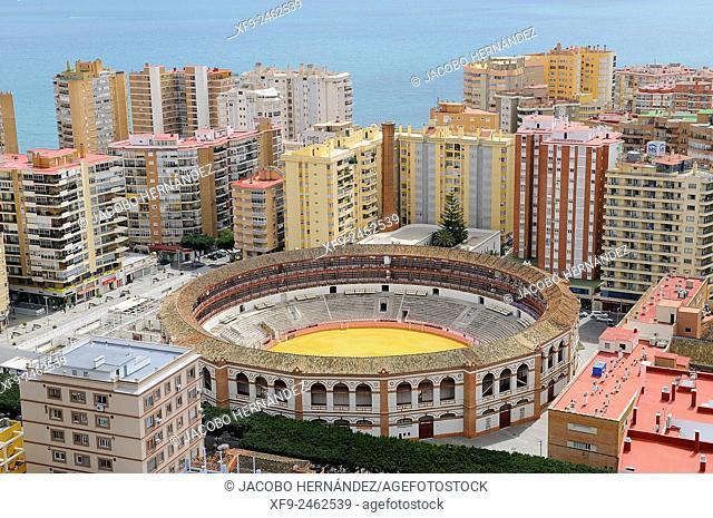 Bullring of Málaga.Andalusia.Spain