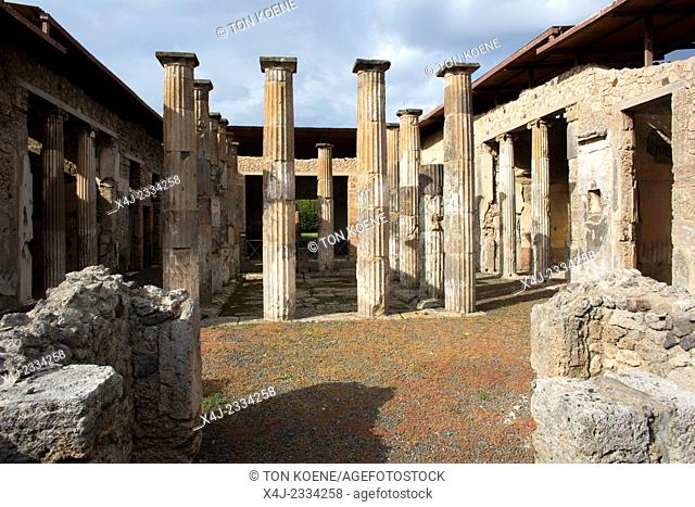 Almost 2,000 years ago, the city of pompeii was destroyed by an eruption of Mount Vesuvius. 20,000 residents of Pompeii and the 4