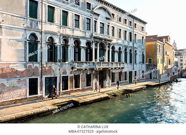 Venice, Dorsoduro, Rio di Santa Margherita, evening mood