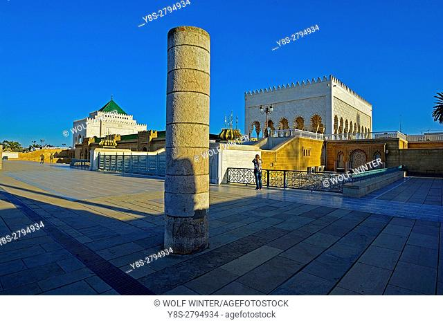 Mausoleum of King Mohamed V, Rabat, Morocco