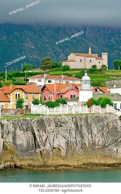 Llanes (Asturias) Spain. Town of Avilés