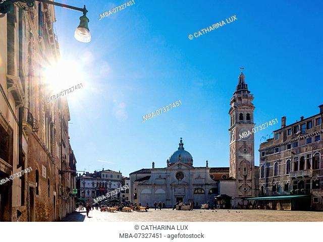 Venice, Campo and Church of Santa Maria Formosa