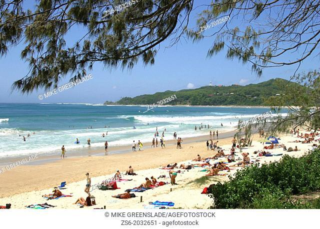 Main Beach, Byron Bay, NSW, Australia