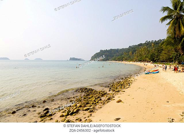 Lonely Beach on Ko Chang, Thailand