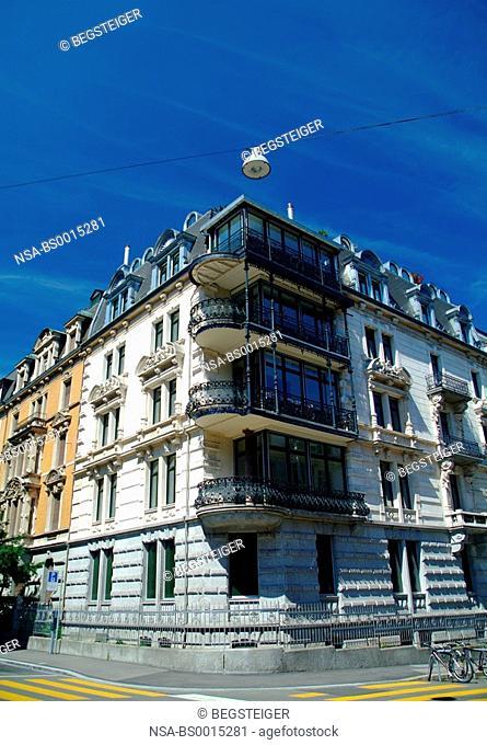 building, Old Town, Zurich