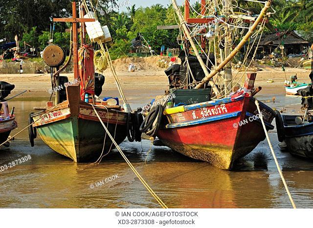 fishing boats, Bangboet, Chumpon Province, Thailand