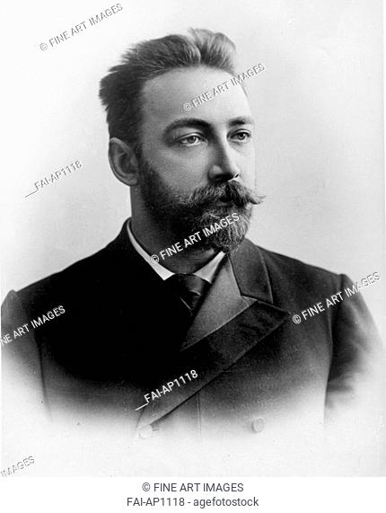 Russian physicist Pyotr Nikolaevich Lebedev (1866-1912). Anonymous . © The Lebedev Physics Institute (FIAN), Moscow. Portrait