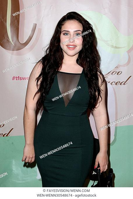 Too Faced's Sweet Peach Launch Party Featuring: Brenna Damico Where: West Hollywood, California, United States When: 01 Dec 2016 Credit: FayesVision/WENN