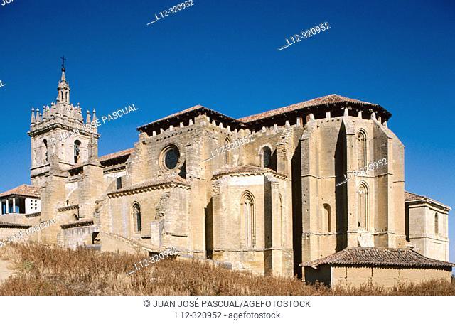 Church of San Hipólito. Támara. Palencia province, Spain