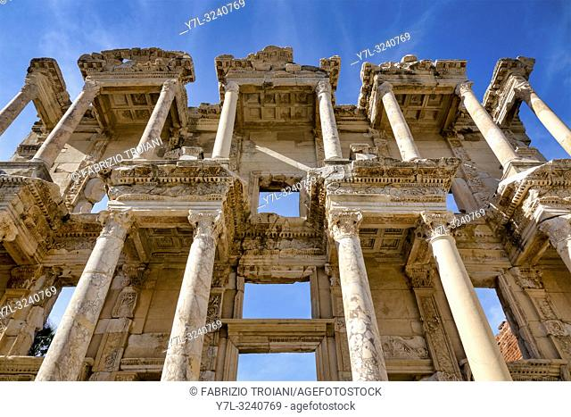 Library of Celsus in Ephesus, Selçuk, Izmir Province, Turkey
