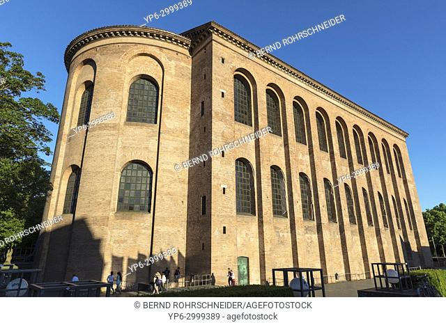 Basilica of Constantine or Aula Palatina, World Heritage Site, Trier, Rhineland-Palatinate, Germany