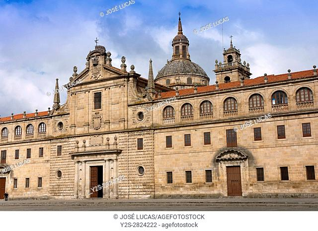 """College Nuestra Señora de la Antigua - Escolapios (also called """"""""El Escorial gallego""""""""), Monforte de Lemos, Lugo province, Region of Galicia, Spain, Europe"""